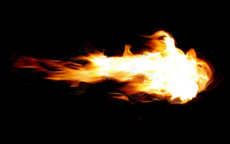Fireball royalty free stock image