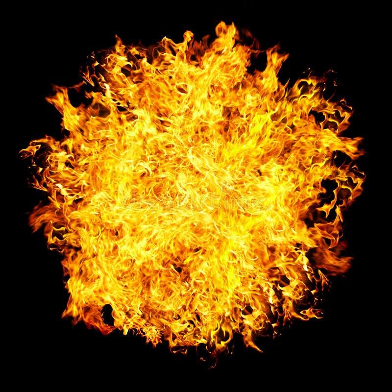 fireball royaltyfri foto