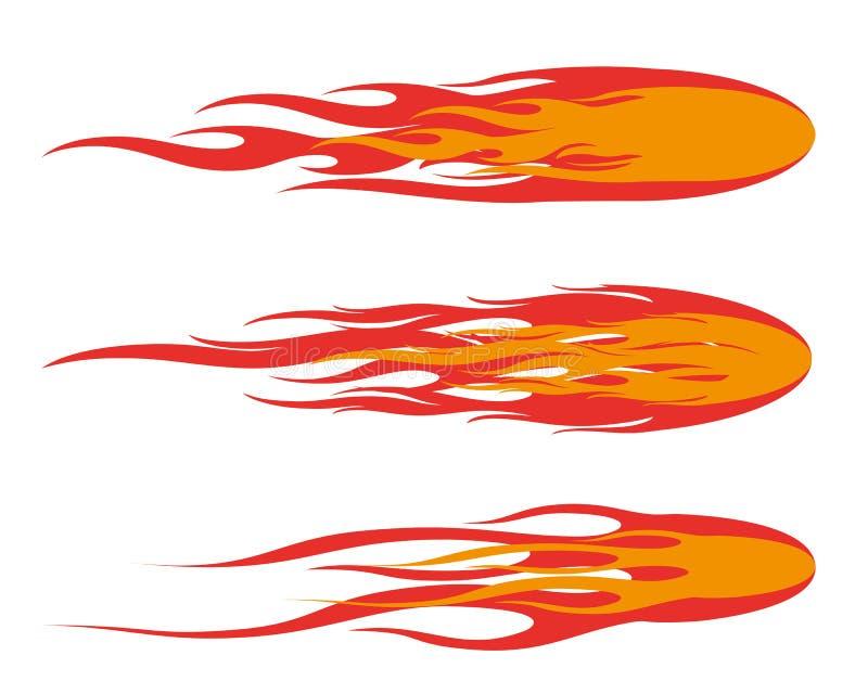 fireball royaltyfri bild