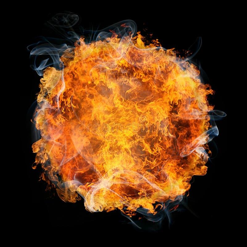 Download Fireball stock illustration. Illustration of color, nature - 9796177