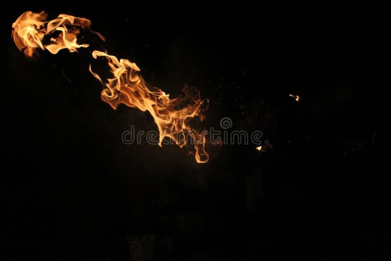Fireball stock photo