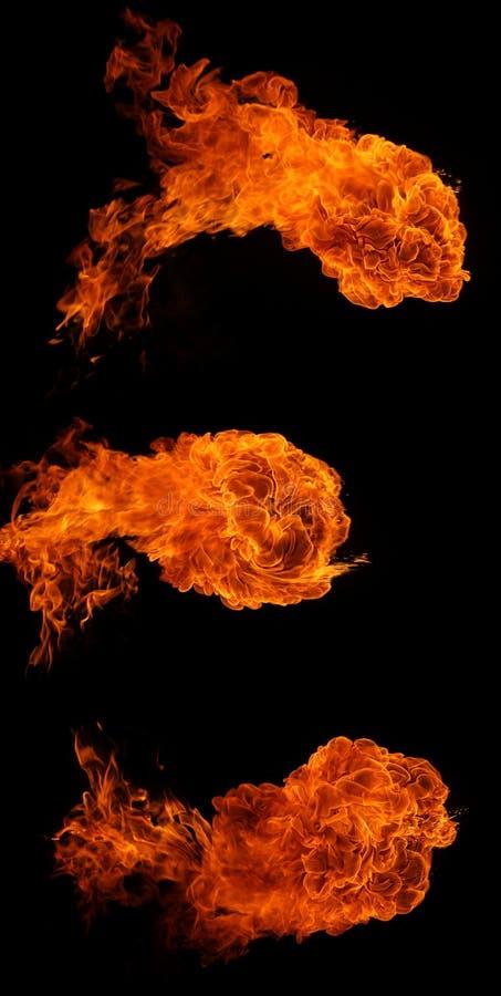 Download Fireballs stock photo. Image of energy, detonate, danger - 6470844