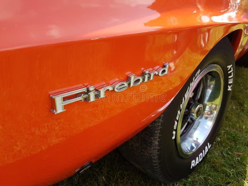 Firebird商标 免版税库存照片