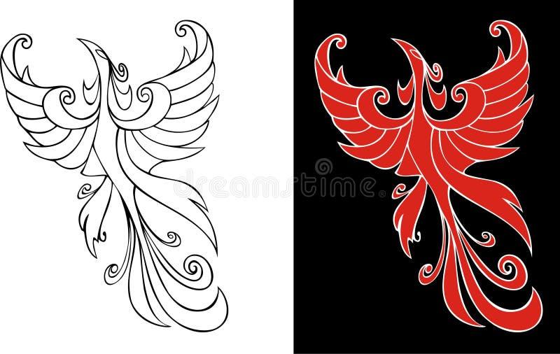 Firebird illustration de vecteur