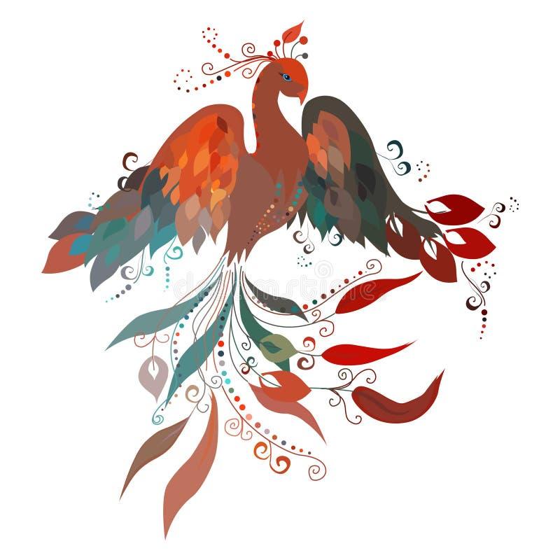 Firebird Vektor stock abbildung