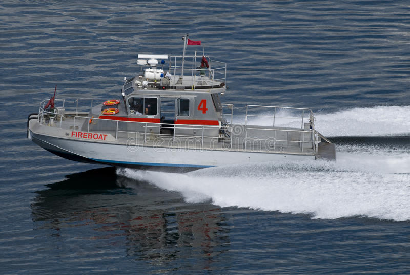 Fireboat 4 stock afbeeldingen