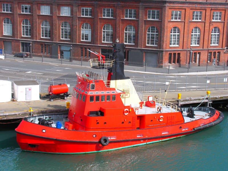 fireboat schronienia obrazy stock
