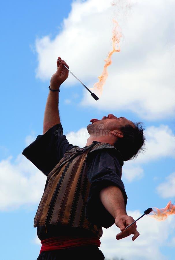 firebreather新生 免版税图库摄影