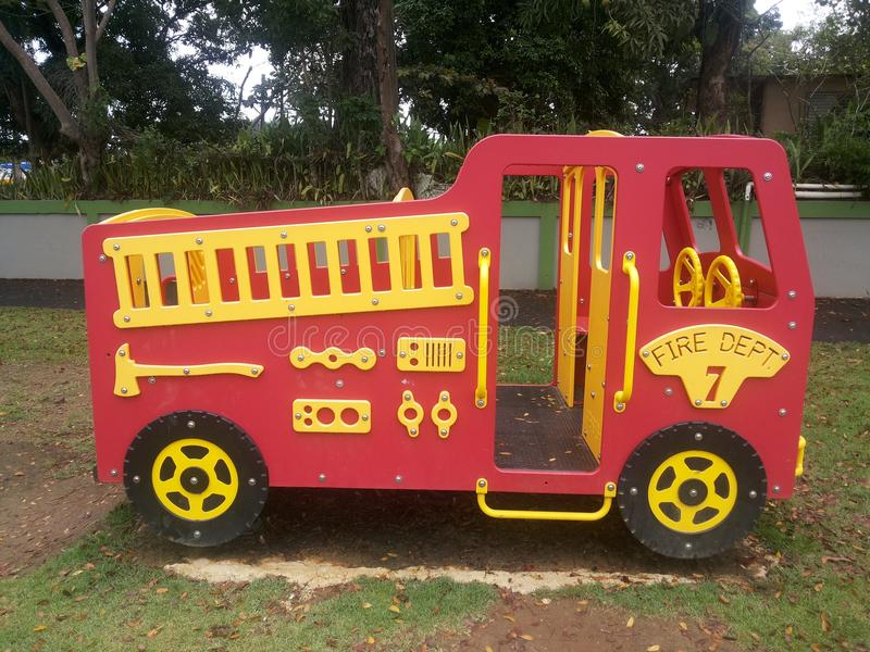 Firebus стоковые фотографии rf