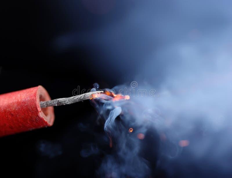 firecracker στοκ εικόνα