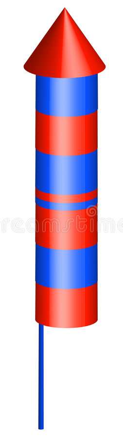 Firecracker stock illustration