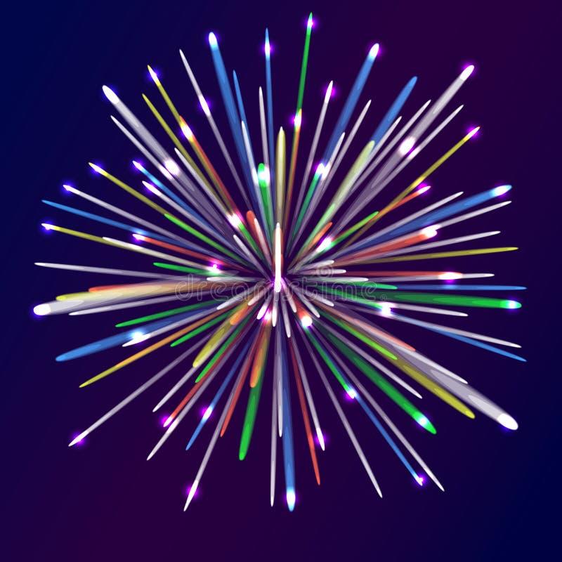 firecracker stock abbildung