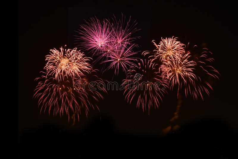 Firecracker. A firecracker is a small explosive device primarily designed to produce a large amount of noise royalty free stock photography