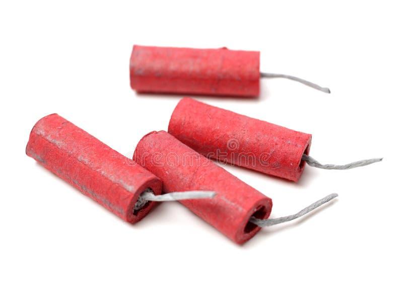 firecrackers κόκκινο στοκ φωτογραφία