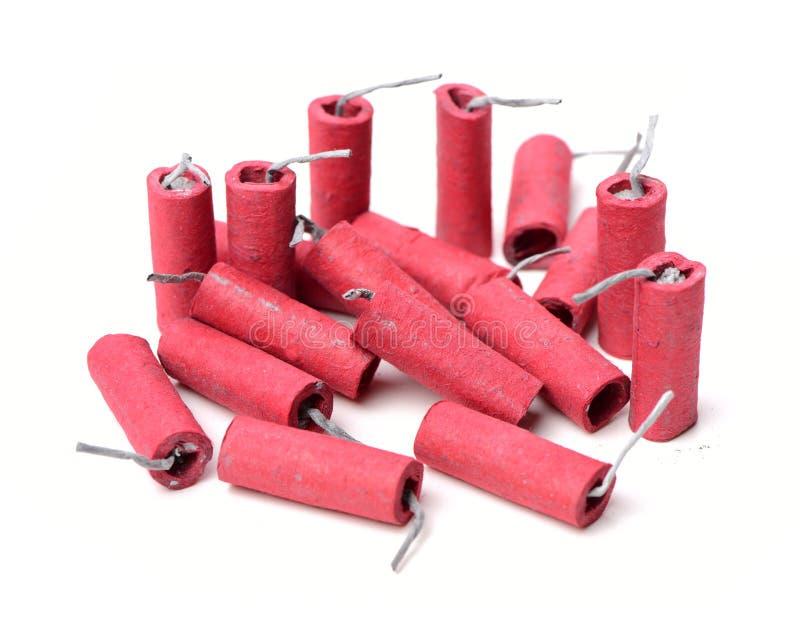 firecrackers κόκκινο στοκ φωτογραφίες με δικαίωμα ελεύθερης χρήσης