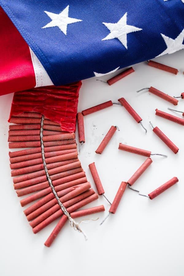 firecrackers royalty-vrije stock afbeelding