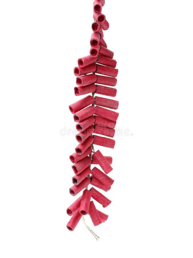 Κόκκινα Firecrackers στοκ εικόνα