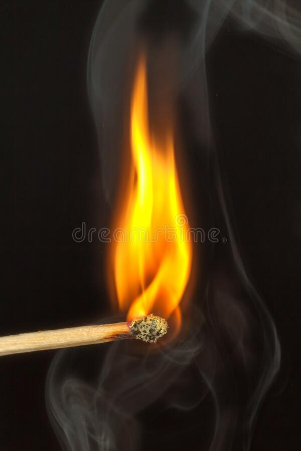 Fired Match Free Public Domain Cc0 Image