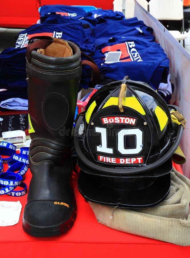 Firefight pracownika przekładnie obraz stock