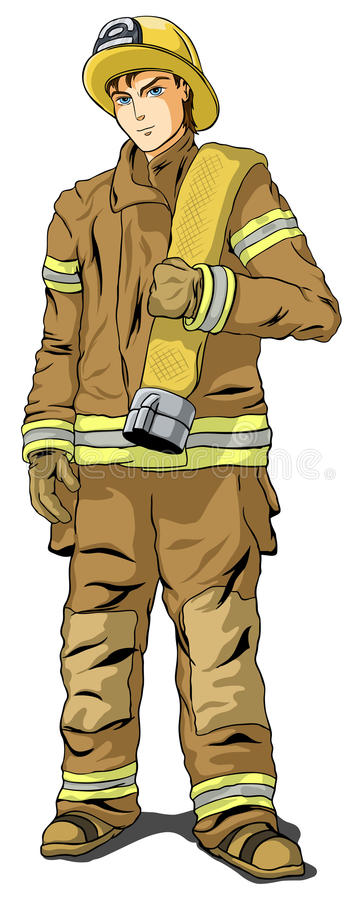 Free Firefighter Stock Image - 12469021