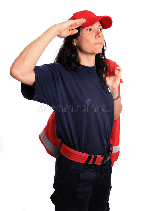 Download Firefighter Royalty Free Stock Image - Image: 16021386