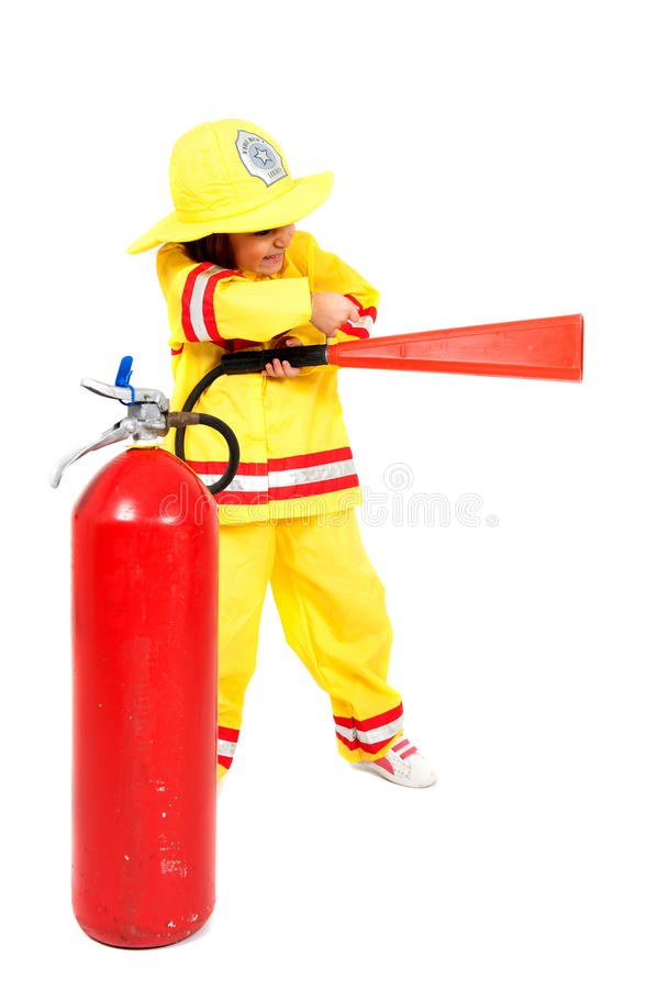 Download Firefighter stock photo. Image of yellow, worker, firefighter - 21626046