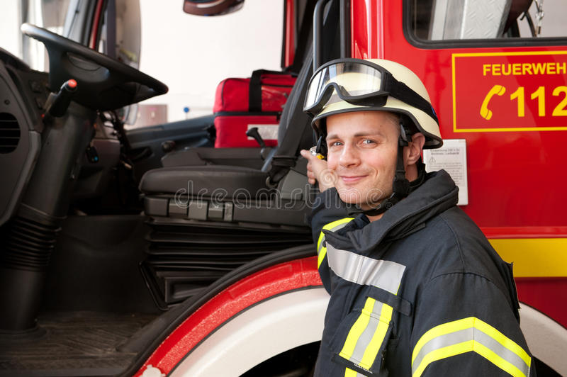 Download Firefighter Stock Image - Image: 24894701