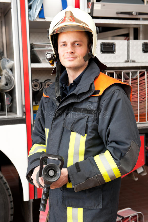 Download Firefighter Royalty Free Stock Image - Image: 25116496