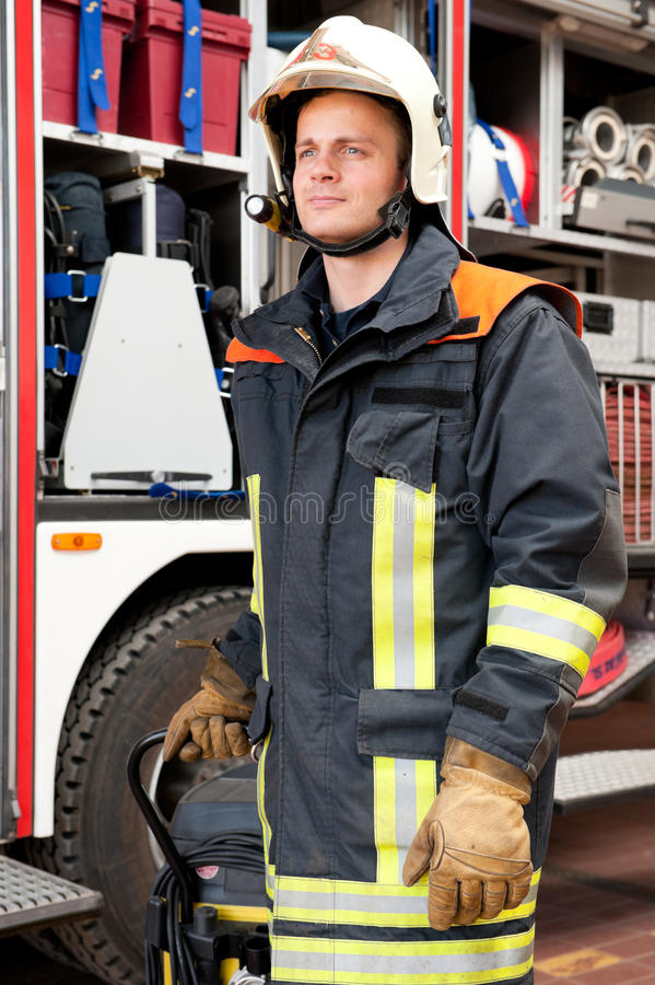Download Firefighter stock photo. Image of fire, person, fireman - 25116546