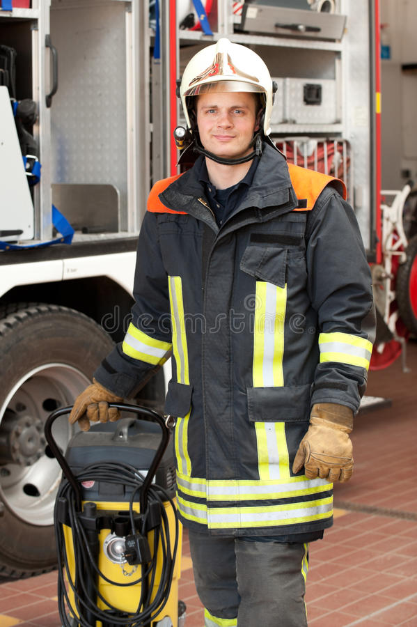 Download Firefighter stock photo. Image of people, firefighter - 25116558
