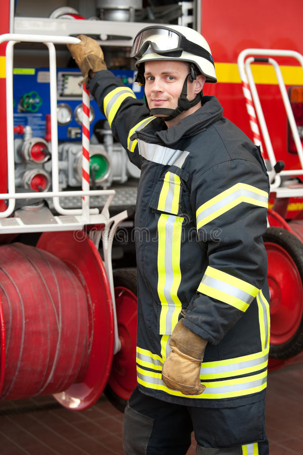 Download Firefighter stock photo. Image of firefighting, people - 25116596