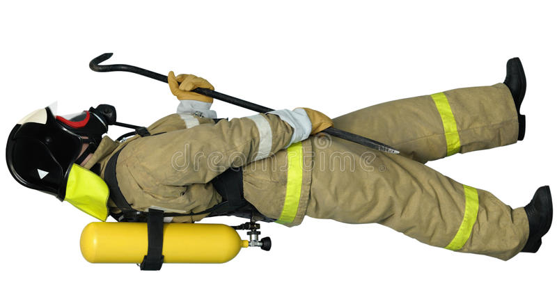 Download Firefighter Breathing Apparatus Stock Photo - Image: 23549424