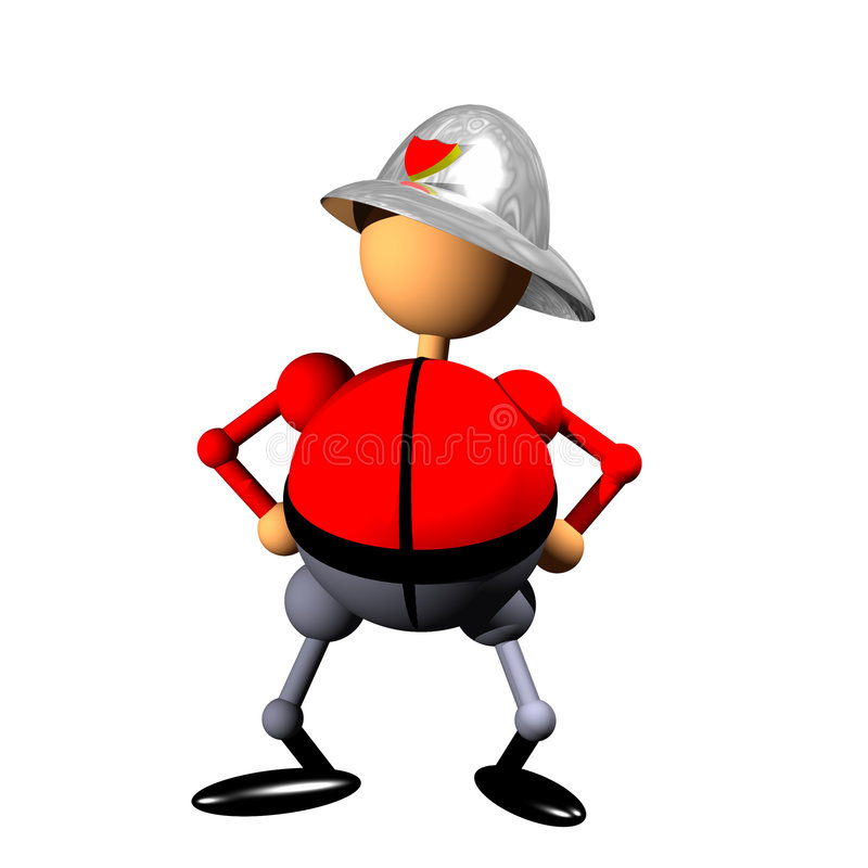 Firefighter clipart stock images