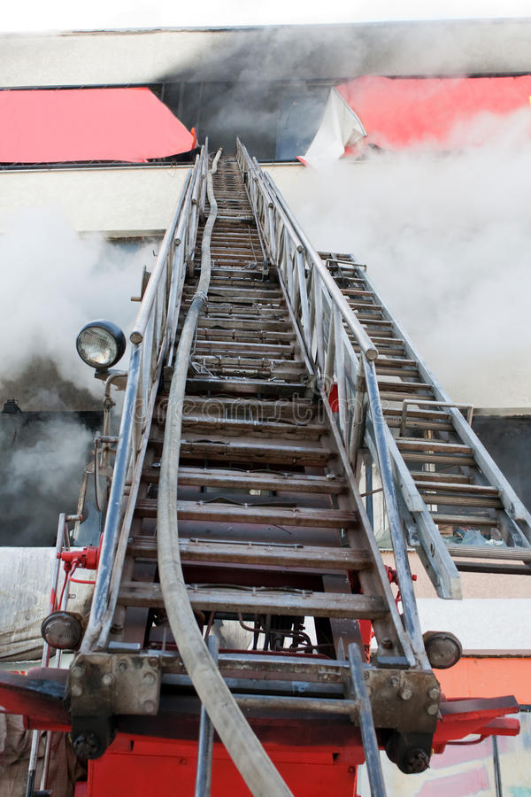 Download Firefighter On Fire Stock Photo - Image: 13003010