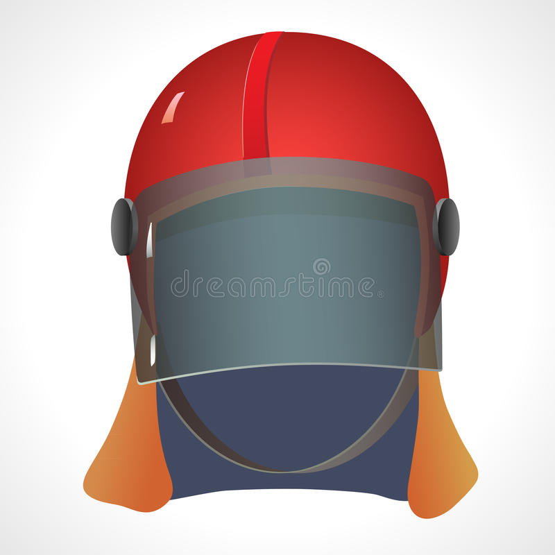 Firefighter helmet stock image