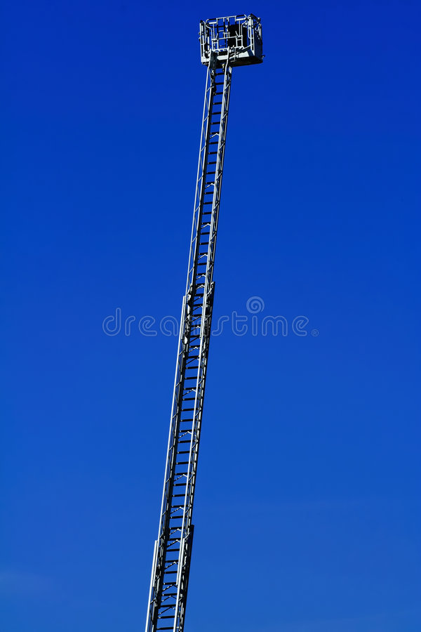 Download Firefighter's ladder stock photo. Image of engine, extend - 2173496