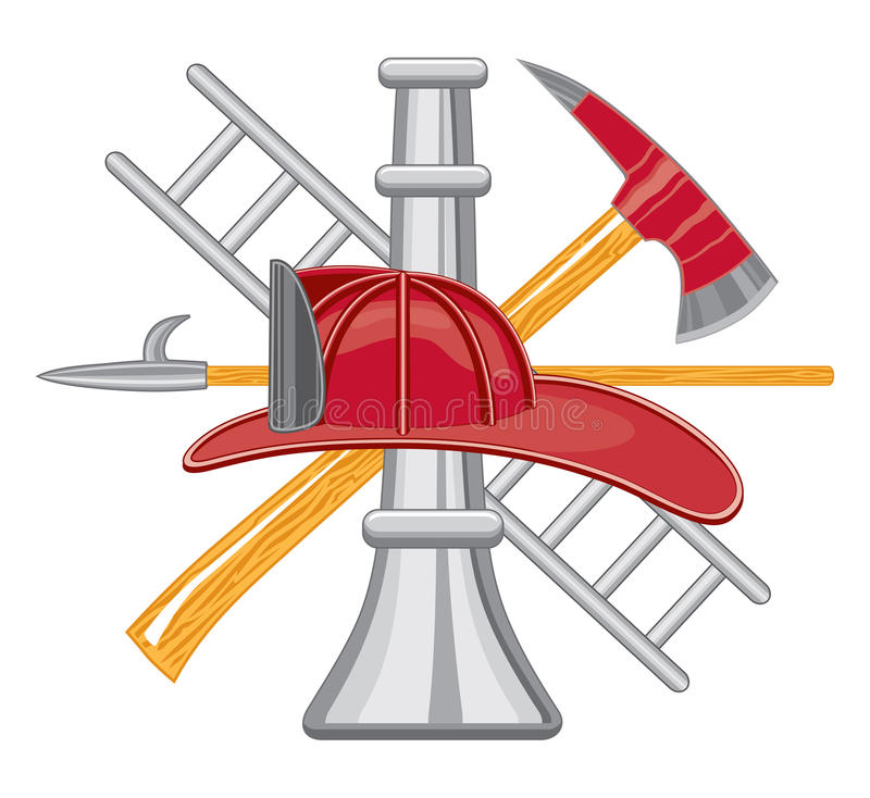 Free Firefighter Tools Logo Stock Photos - 18082963