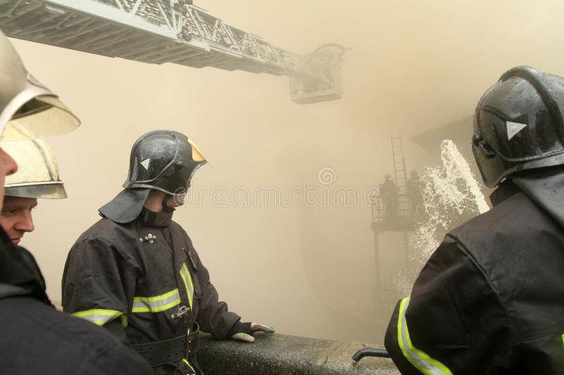 Firefighters Editorial Image