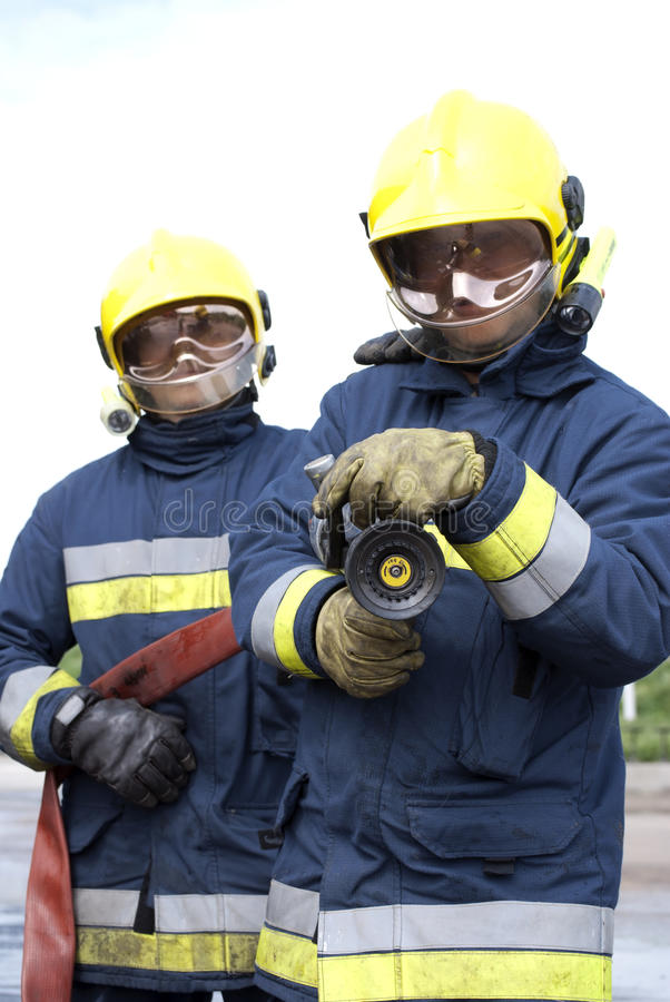 Firefighters royalty free stock photos