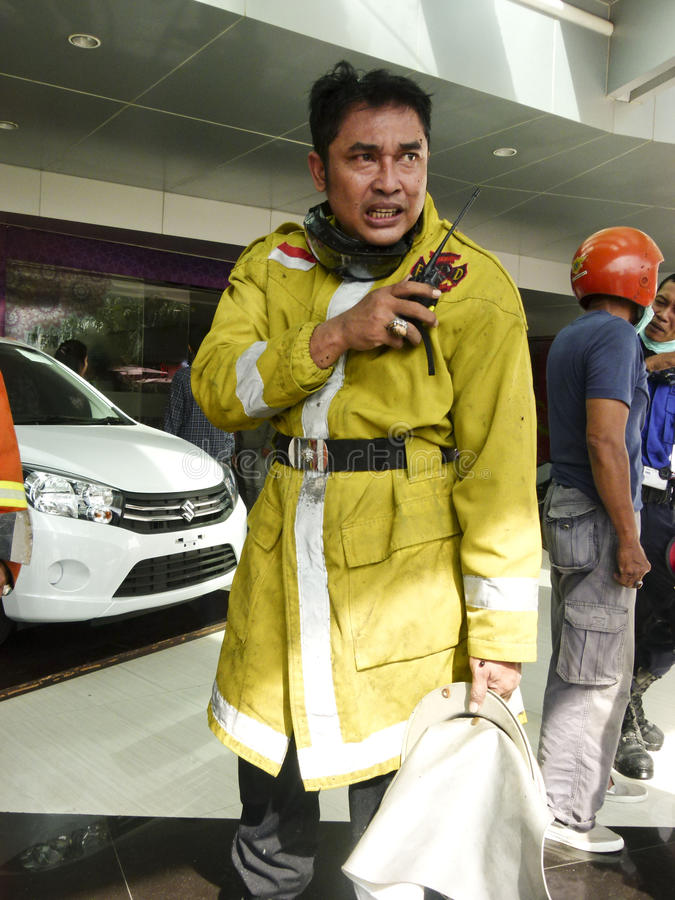 firefighters imagem de stock