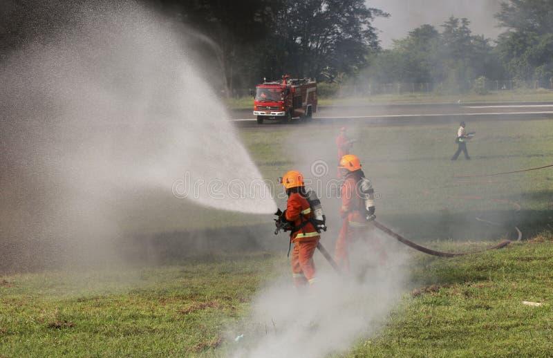 firefighters imagens de stock royalty free