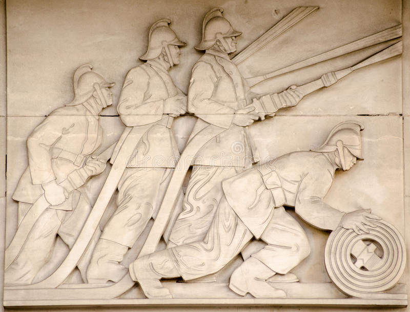 Download Firefighters Frieze, London Stock Image - Image: 32013799