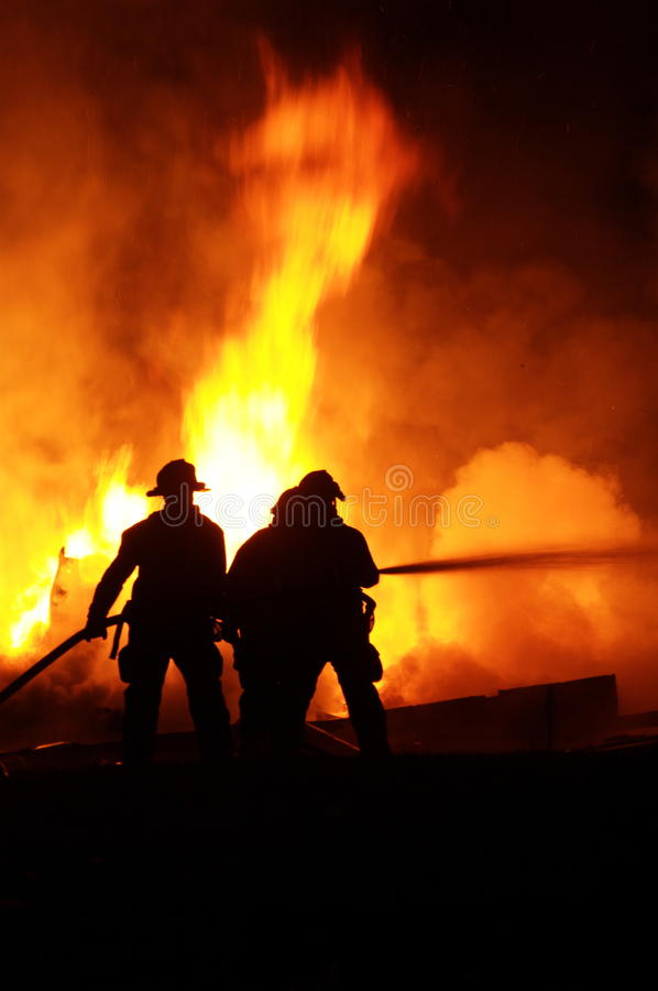 Free Firefighters In Action Stock Images - 14560174