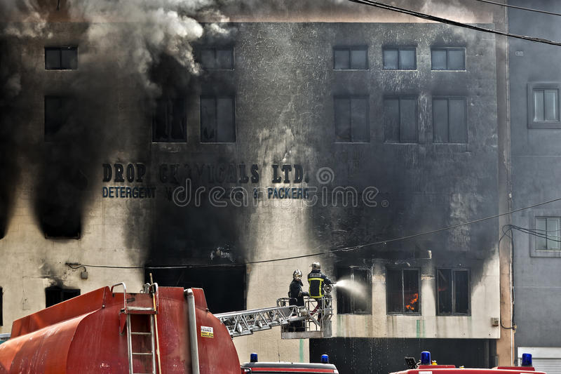 Download Firefighting editorial photo. Image of editorial, malta - 19248451