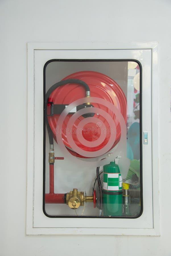 Firefighting equipment store. stock photography