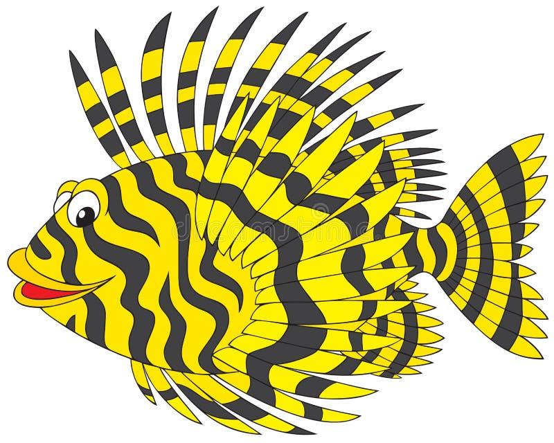 firefish 皇族释放例证