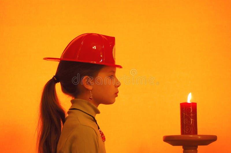firegirl 免版税图库摄影
