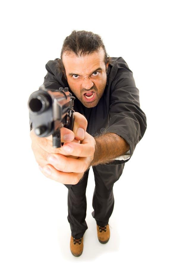 firegun άτομο στοκ φωτογραφία με δικαίωμα ελεύθερης χρήσης