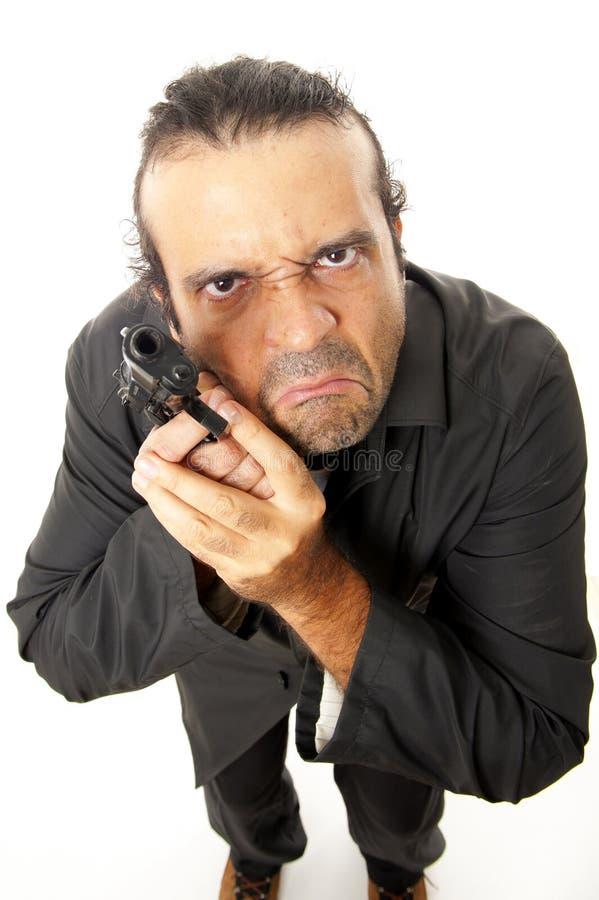 firegun άτομο στοκ εικόνα