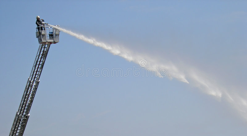 Download Fireladder stock photo. Image of refresh, brave, extinguish - 12376